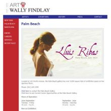Lluís Ribas expone en la Wally Findlay Palm Beach